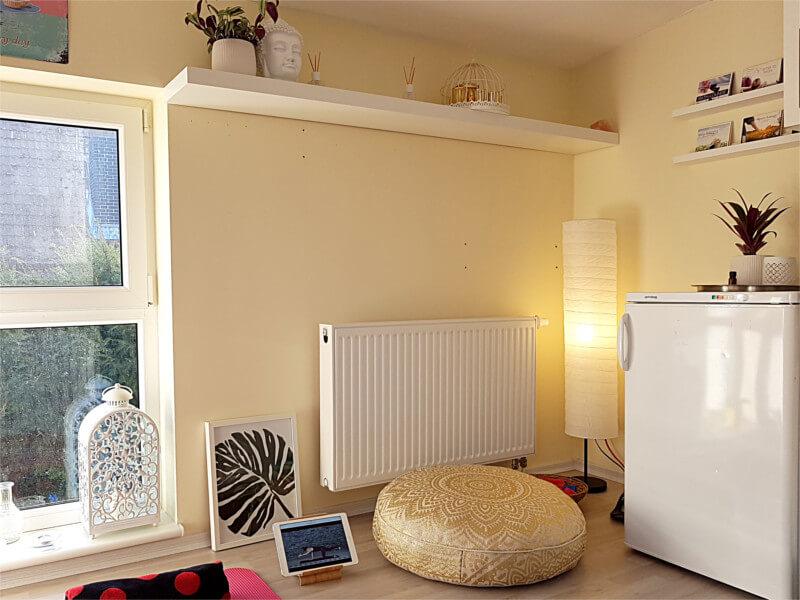 Yoga zimmer einrichten latest meine idee dazu wa with for Yoga wohnzimmer langenzersdorf